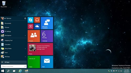 windows 10 desktopS